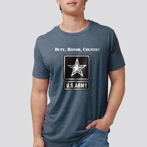 Duty Honor Country Army Mens Tri-blend T-Shirt