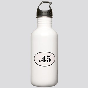 .45 Oval Design Stainless Water Bottle 1.0L