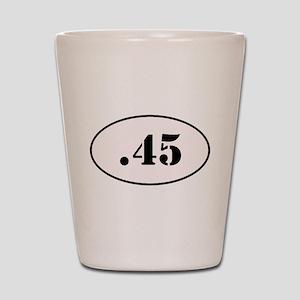 .45 Oval Design Shot Glass