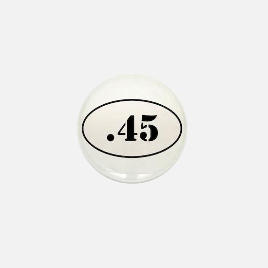 .45 Oval Design Mini Button