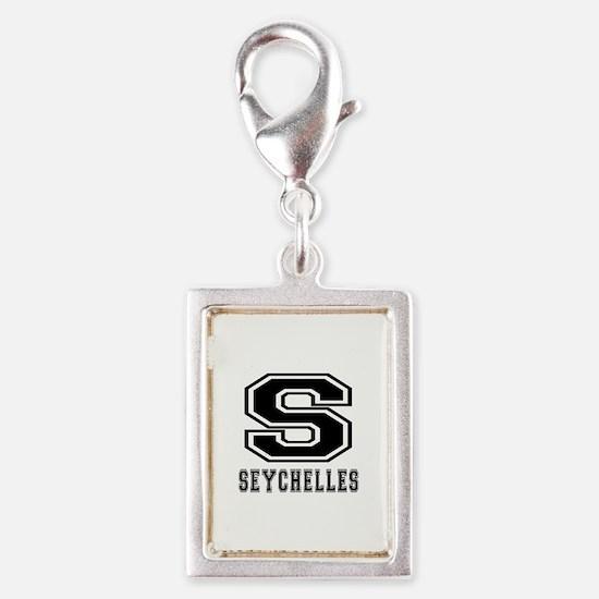 Seychelles Designs Silver Portrait Charm