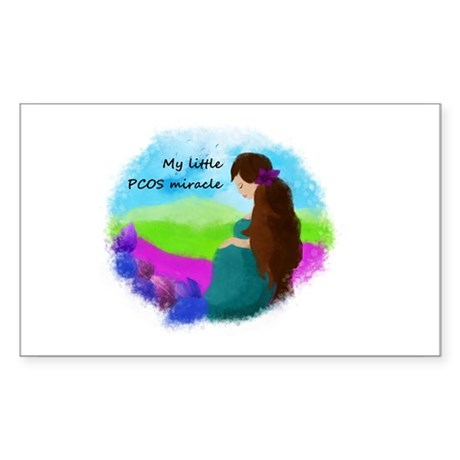 My Little PCOS Miracle Sticker