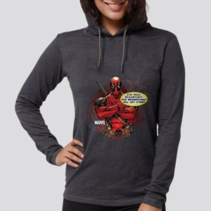 9496631-ME-deadpool-besmirched Womens Hooded Shirt