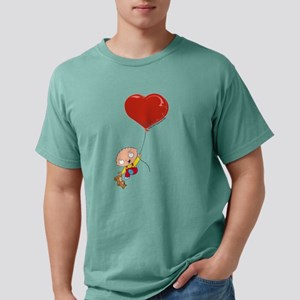Family Guy Heart Mens Comfort Colors Shirt