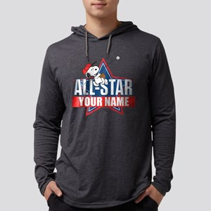 Peanuts All-Star Mens Hooded Shirt