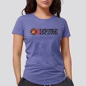 Remember Red Womens Tri-blend T-Shirt