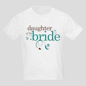 Stylish Daughter of the Bride Kids Light T-Shirt