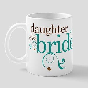 Stylish Daughter of the Bride Mug