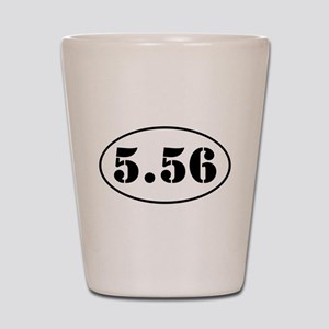 5.56 Oval Design Shot Glass