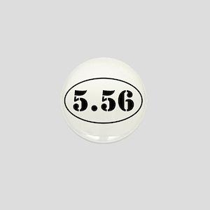 5.56 Oval Design Mini Button