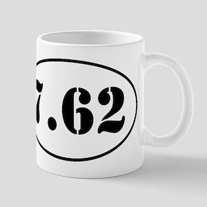 7.62 Oval Design Mug