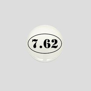7.62 Oval Design Mini Button