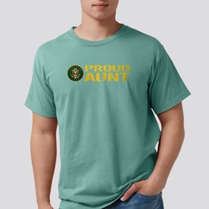 U.S. Army: Proud Aunt Mens Comfort Colors Shirt