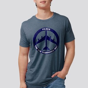 Peace The Old Fashioned Way Mens Tri-blend T-Shirt