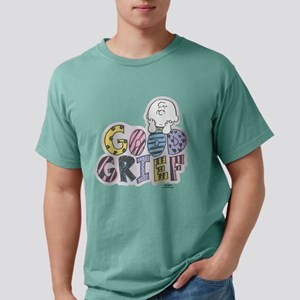 Charlie Brown Good Grief Mens Comfort Colors Shirt