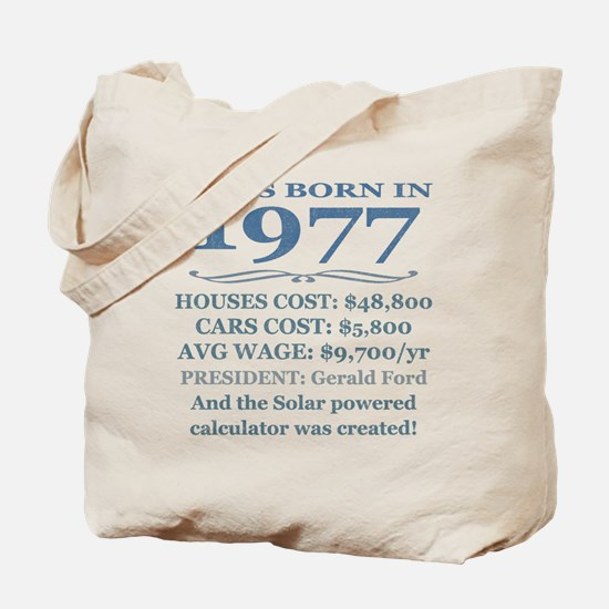 Birthday Facts-1977 Tote Bag