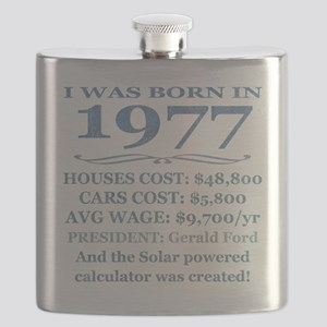 Birthday Facts-1977 Flask