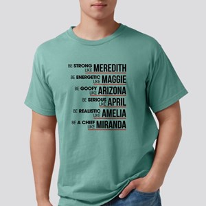 Be Strong like Meredith Mens Comfort Colors Shirt