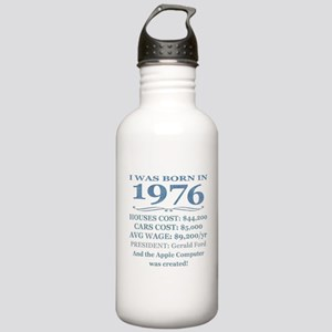 Birthday Facts-1976 Water Bottle