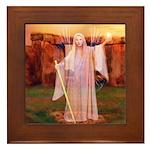 Angel #161 : Framed Tile