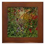 Angel #166 : Framed Tile