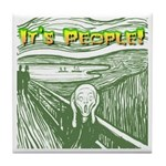 It's People! Tile Coaster