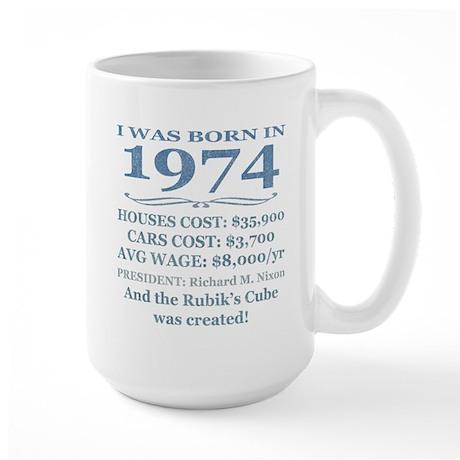 Birthday Facts-1974 Mugs