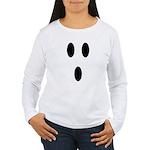 Sp000ky Ghost Women's Long Sleeve T-Shirt