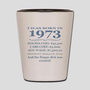 Birthday Facts-1973 Shot Glass