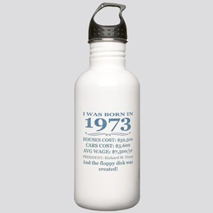 Birthday Facts-1973 Water Bottle