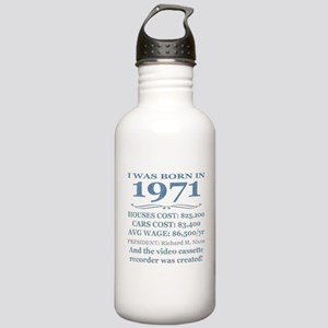 Birthday Facts-1971 Water Bottle