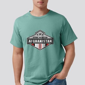 Time Served - Afghanista Mens Comfort Colors Shirt