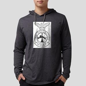 AF Fire Badge Mens Hooded Shirt
