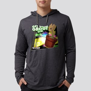 GOTG Get Your Groot On Mens Hooded Shirt