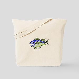 Tuna Abstract 3 Tote Bag