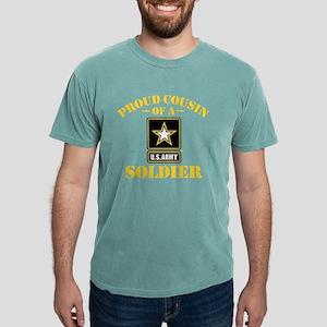 proudarmycousin33b Mens Comfort Colors Shirt