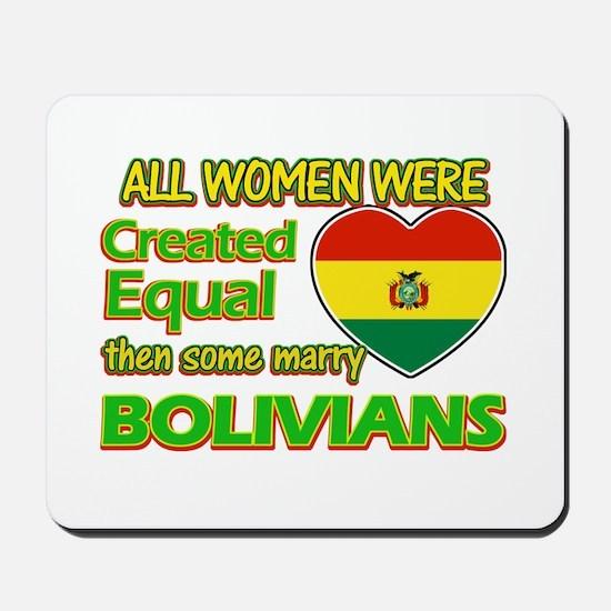 Bolivians Husband designs Mousepad
