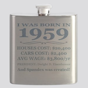 Birthday Facts-1959 Flask