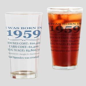 Birthday Facts-1959 Drinking Glass