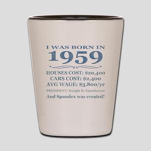 Birthday Facts-1959 Shot Glass