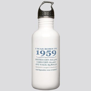 Birthday Facts-1959 Water Bottle