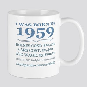 Birthday Facts-1959 Mugs
