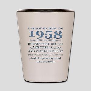 Birthday Facts-1958 Shot Glass