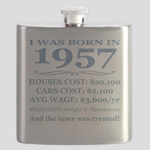 Birthday Facts-1957 Flask