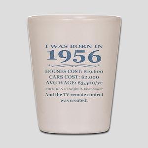Birthday Facts-1956 Shot Glass