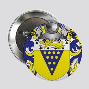 """Moneymaker Coat of Arms - Family Crest 2.25"""" Butto"""