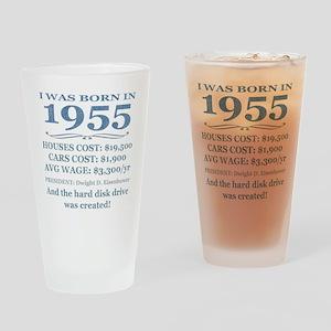 Birthday Facts-1955 Drinking Glass