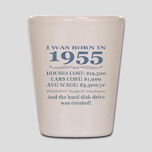 Birthday Facts-1955 Shot Glass