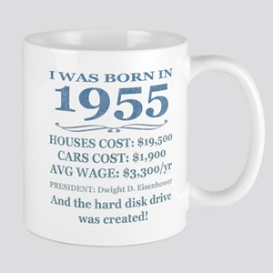 Birthday Facts-1955 Mugs