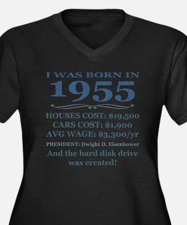 Birthday Facts-1955 Plus Size T-Shirt